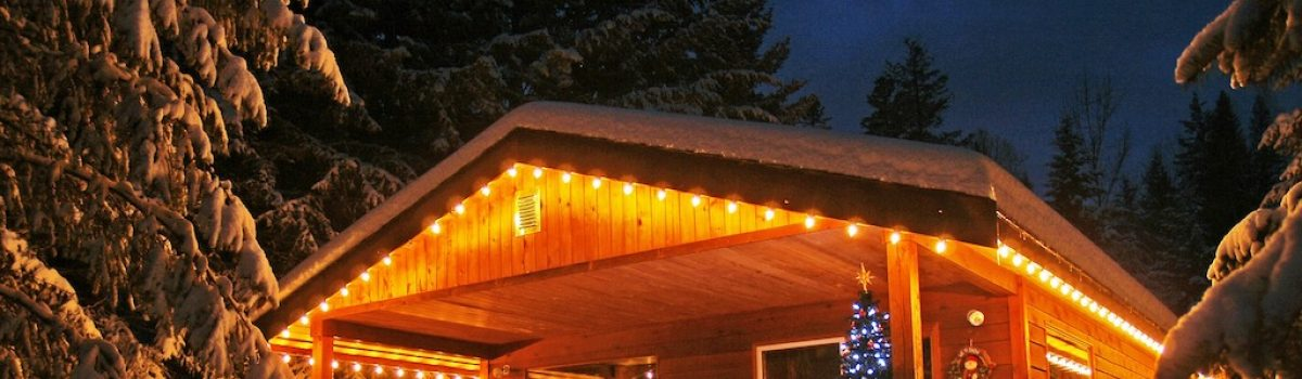 How to Have a Cozy Christmas at the Cabin